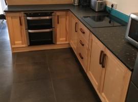 Ash and Walnut handmade kitchen