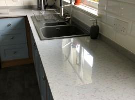 Modern Lapitech Quartz countertops
