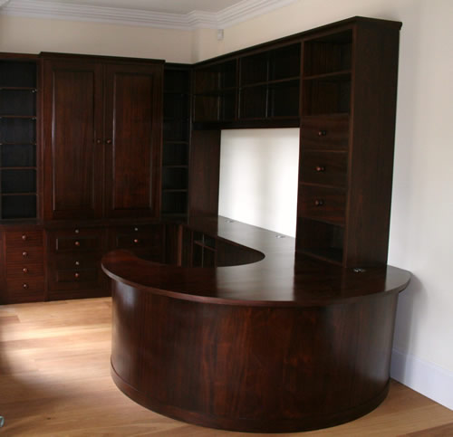 Bespoke Library Study Furniture W Spencer Interiors